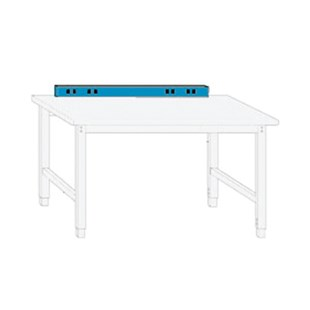 "IAC Industries QS-1022123-D Electrical Service Strip for 72"" Benches"