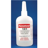 Permabond 101-LB Wicking Type, Plastic Bonding Adhesive, 1 lb. Bottle