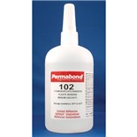 Permabond 102-LB Plastic Bonding Adhesive, 1 lb. Bottle
