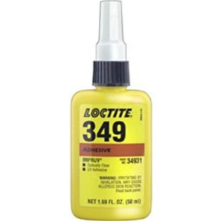 Loctite 34931, IDH 88489 349 Light Cure Adhesive, 50 ml Bottle