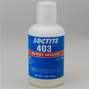 Loctite 40361, IDH 233675 403 Prism Instant Adhesive (High Viscosity), 1 lb Bottle