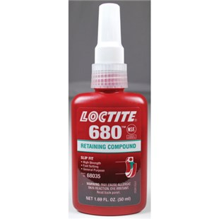 Loctite 68035, IDH 1835201 680® Retaining Compound, Green, 50 ml Bottle