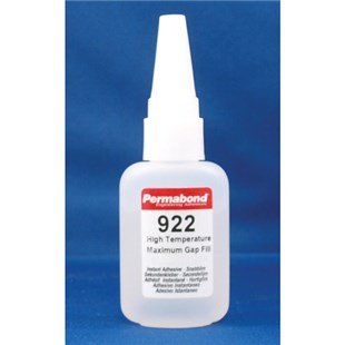 Permabond 922 High Temperature Max Gap Fill Adhesive, 1 oz. Bottle
