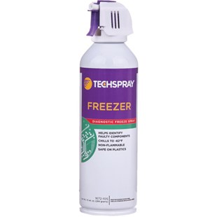 Techspray 1672-10S Freeze Spray, Nonflammable, 10 oz