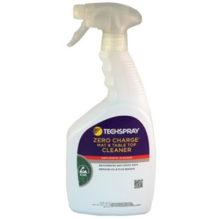 Techspray 1733-QT ZERO Charge Mat & Table Top Cleaner, 1 qt.