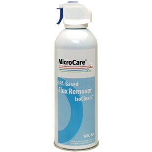 MicroCare MCC-BAC-PROMO IsoClean™ IPA-Based Flux Remover 12 oz. Can, 12/Case with FREE TriggerGrip™