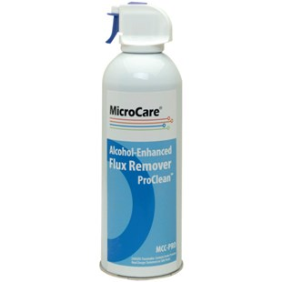 MicroCare MCC-PRO ProClean™ Cleaner for Rosin, Water Based and No-Clean Fluxes & Pastes, 12 oz Aerosol