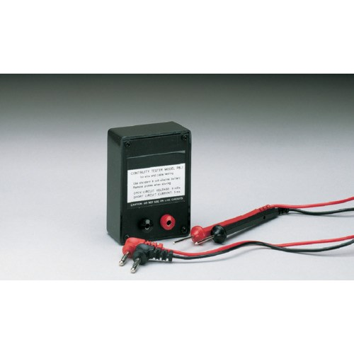 Pb General Purpose Point To Point Audible Continuity Tester With Leads And Alligator Clips
