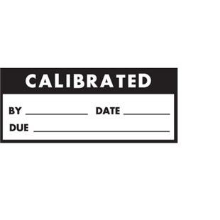 "Brady WO-41 Write-On Calibrated Labels, 1.50"" x .625"", 14/Card"