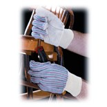 PIP 86-4104 Leather Palm Work Gloves, 12 Pairs/Pkg