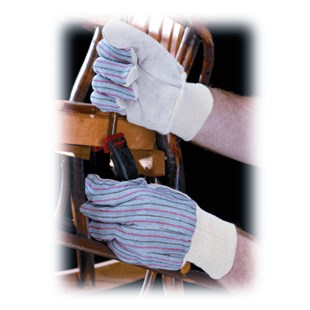 PIP 12000 Leather Palm Work Gloves, 12 Pairs/Pkg