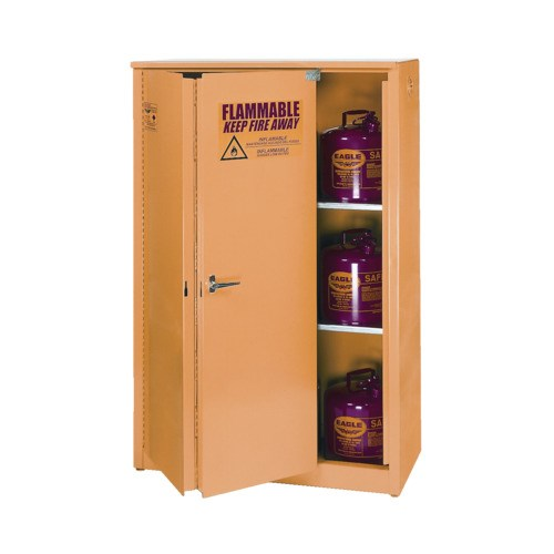 Eagle 1945 Flammable Liquid Safety Storage Cabinet With Self Close Doors,  45 Gal. Capacity