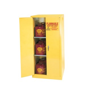 """Eagle 1962X Flammable Liquid Safety Storage Cabinet, 60 Gal. Capacity, 32"""" W x 32"""" D x 65"""" H"""