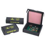 "Protektive Pak 37000 ESD-Safe Mini Packs with Foam, 2-1/2"" x 1-1/4"" x 1"" (ID)"