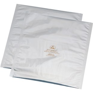 "Desco 13125 Statshield® Transparent Metal Out ESD Shielding Bags - Open Top (15"" x 18"")"