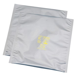 "Desco 13531 Statshield® Transparent Metal In ESD Shielding Bags - Open Top (24"" x 30"")"