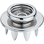 SCS 3050 Female Snap Fastener (Push and Clinch) Pkg/10