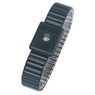 Desco 09043 Metal Wrist Band Only, Fixed Size Large