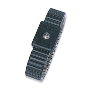 Desco 09045 Metal Wrist Band Only, Fixed Size Small