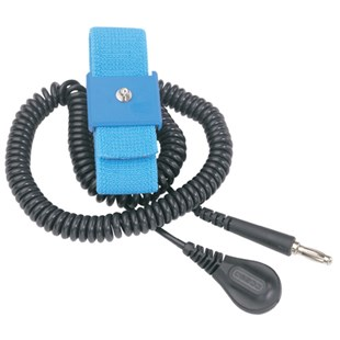 Desco 09070 Wide Band Wrist Strap with 6 ft. Cord