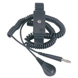 Desco 09085 Metal Wrist Strap with 6 ft. Cord
