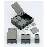 "SMD2C Interlocking Modular Conductive Storage Box, 0.6"" x 1.1"" x 0.65"""