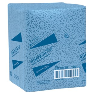 "Kimberly-Clark 33560 KIMTECH Prep Kimtex Wipers, 12.5"" x 12"", 66 Wipes/Pack, 8 Packs/Case"