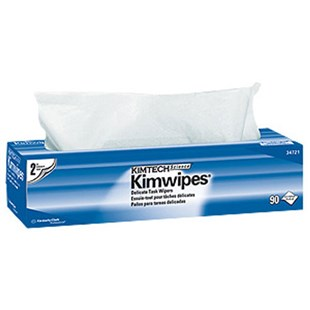 "Kimberly-Clark 34721 KIMTECH SCIENCE KIMWIPES Delicate Task Wipers, 14.7"" x16.6"", 15 Boxes/Case"