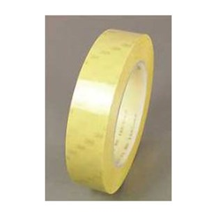 """3M 7000133149 56 Tape 1/4""""w Yellow 72yds Rubber Adh. 2.3mm"""