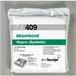 """Texwipe TX409 Absorbond® Hydroentangled Polyester Wipes, 9"""" x 9"""", 300/Bag"""