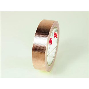 "3M 1182 Copper Foil Conductive Adhesive Tape, 1"" x 18 Yards"