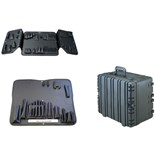 Jensen Tools RC113 Roto-Rugged Wheeled Case with CEK36 Pallets