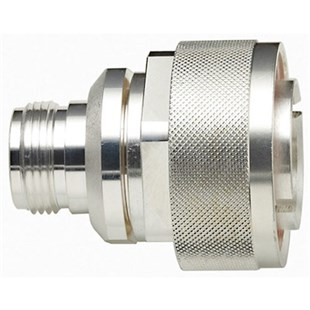 TPI-3007 Silver Plated Brass N Type Female Connector with Teflon Insulation