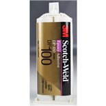 3M DP-100-CLEAR Scotch-Weld™ Epoxy Adhesive, Clear, 50 mL Duo-Pak