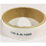 """125A-R-1000 ARROW INSPECTION 3/16""""X1/8"""" RED"""