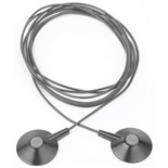 SCS 2389 Monitor/Table Mat Interconnect Cord, 10' with 10.0mm Snap
