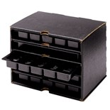 Conductive Containers Inc. DC1230 Conductive Drawer Cabinet with Trays