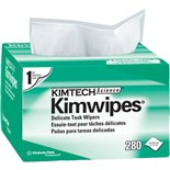 """Kimberly-Clark 34120 Delicate Task Wipers, 4.4"""" x 8.4"""", 280/Box, 30 Boxes/Case"""