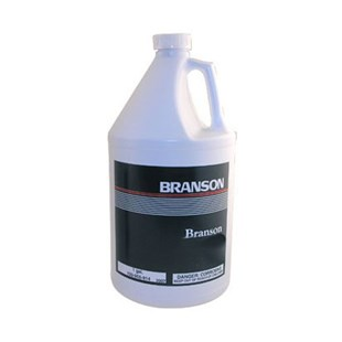 Branson 100-955-824 MC-1 Metal Cleaner Solution, 4 Gallons/Case