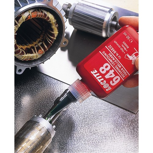Loctite 21443 Idh 1835922 648 High Strength Retaining Compound Green 10 Ml Bottle Jensen Tools Supply