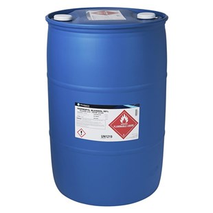 ALCOHOL-99%-55GAL PHARMCO AAPER 99% Isopropyl Alcohol, 55 Gallon Drum