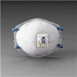 3M 8577 Particulate Respirator P95 with Nuisance Level Organic Vapor Relief, 80/Case