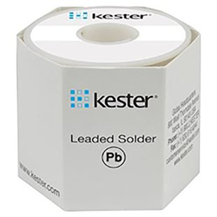 Kester 1460400040 Solder Wire, Solid Core, Leaded, Sn60Pb40, Solid, 0.040 in (1.00 mm), Solid Series