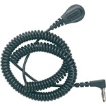 Desco 91095 6' Coil Cord 4MM with Right Angle Banana Plug