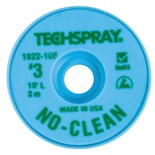 "Techspray 1822-10F No-Clean Desoldering Braid, .075"" x 10'"