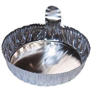 "57MMT Disposable Aluminum Dish with Tab, 2-1/4"" Dia. 144/Box"