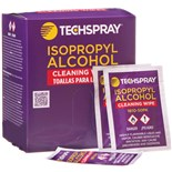Techspray 1610-50PK 99.8% Isopropyl Alcohol (IPA) Wipes, 50/Pkg