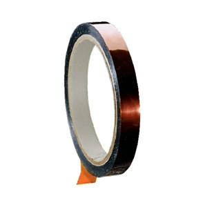 "Shercon 22-0250 High Temp Polyimide Amber Tape, 1/4"" x 36 Yards"