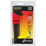 Bondhus 10946 L-Key Balldriver Set, 6 pc., 1.5 thru 5mm