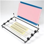 Production Devices PC502 PCB Holder with 2 Rails & Antistatic Foam Cover